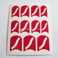 Wholesale Wholesale fashion curved line nail art design nail stencil from china suppliers