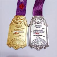 Buy cheap Manufacture Custom Metal Sports Medal With Ribbon - copy from wholesalers
