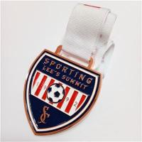 Buy cheap New Design award medal customized football medals from wholesalers