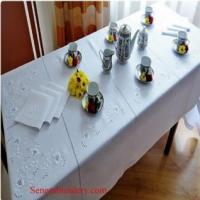 China Hand Embroidered Tablecloths on sale