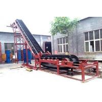 Buy cheap Mineral Processing equipment Belt Conveyor With High Inclination Angle And Waved Guard Side from wholesalers