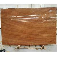Wholesale Polished Red Wood Marble Slabs from china suppliers