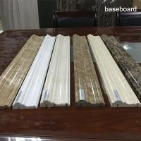 Wholesale Marble Natural Marble sinks Skirting Baseboard for Floor Decorative Molding skirt board from china suppliers