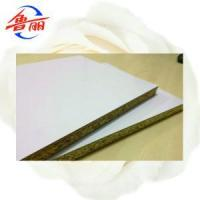 Buy cheap Melamine white panel particle board from wholesalers