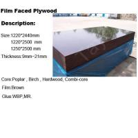 Buy cheap Film faced plywood Brown FFP from wholesalers