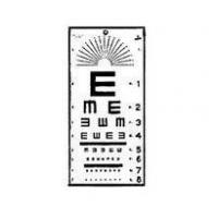Wholesale EYE CHART TUMBLING E 10 FT from china suppliers