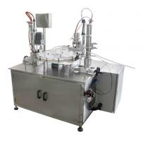 Wholesale Rotary Table Nail Polish Filling and Capping Machine with Inlet and Outlet Conveyors from china suppliers