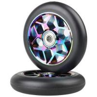 Buy cheap Factory Wholesale Pro Scooter Parts High Rebound Wheels Aluminium Core ABEC-9 Bearing 110mm/120mm from wholesalers