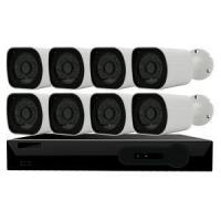 Wholesale 8ch h.265 security outdoor camera system poe nvr kit from china suppliers