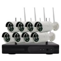 Wholesale 8CH 1080P Wireless NVR Kits Waterproof IR Night Vision IP Camera 2.0MP from china suppliers