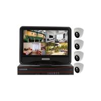 """Wholesale 4CH 720P Wireless NVR Kits 10"""" Monitor Indoor IP Camera 1.0MP from china suppliers"""