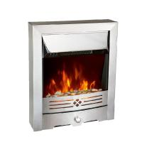 China Electric Fireplace WARRMTH Stainless Steel Effect Free-standing Electric Fireplace EFNDY-219E on sale