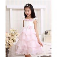 Wholesale summer floral party dress tutu dress for kids girls wear wedding dress from china suppliers