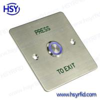 Wholesale Exit Button Push Door Exit Button Switch with LED from china suppliers