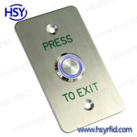 Wholesale Exit Button Access Control Exit Door Release Button with LED from china suppliers