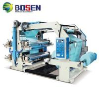 China High Speed 4 colors roll paper Flexographic printing machine price on sale