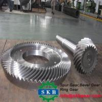 Bevel Shape and spiral bevel gear for truck spare parts