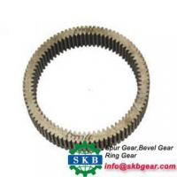 China high quality special ring gear for concrete mixerinternal gear ring on sale