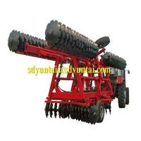 Wholesale 1BZD-8.5 heavy duty disc harrow with boron disc blade from china suppliers