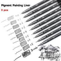 Buy cheap 9pcs/Lot STA Water Based Brush Markers from wholesalers