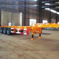 45ft skeleton frame semi trailer