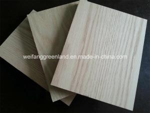 China MDF Products 18mm Natrural Red Oak Veneered MDF