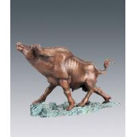 Wholesale Animal sculptures bull-fighting from china suppliers